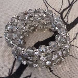 Faux Crydtal stretch bracelet